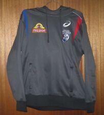 Western Bulldogs Jumper - Mission - Football - Hoodie - VGC - Size M - AFL