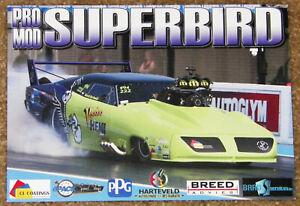 "UNITED KINGDOM ISSUE ""VOO-DOO HEMI"" 1970 SUPERBIRD PRO MOD DRAG RACING HANDOUT!!"