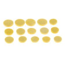 1 Set 8/9/10mm Yellow Piccolo Pads Mats DIY Woodwind Instrument Parts