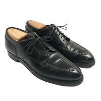 Alden Norwegian Mens Shoes Size 10 B/D Black Blucher Shell Cordovan 2211