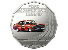 2018 Ford Motorsport Collection RAM 50c Coin - 1971 XY Falcon GT-HO Phase III