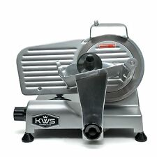 "Kws Premium Commercial 200W Electric Meat Slicer 6"" Frozen meat Deli slicer"