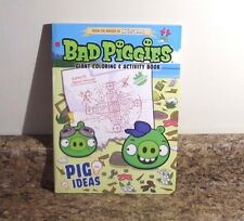 Angry Birds Bad Piggies Coloring and Activity Book Pig Ideas NEW