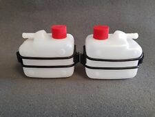 590 Autosports- Kart fuel overflow tank/bottle with mount (2 units)