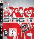Disney Sing It - High School Musical 3 Senior Year Playstation 3 Ps3 Neu/Ovp/EU