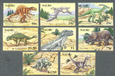 Prehistoric Animals-Nauru- Dinosaurs 629/636 mnh set