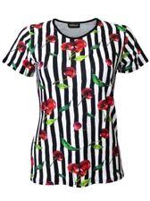 Camisas y tops de mujer de manga corta negro talla M
