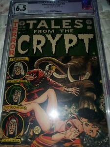 Tales From The Crypt Issue 32 Pre Code Horror CGC 6.5