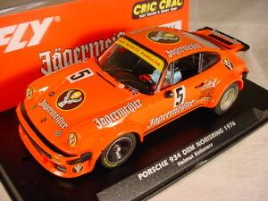 Fly Porsche 934 #5 DRM 1976 1978 Jagermeister E2020 MB 1/32 slot car