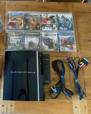 PS3 PlayStation 3 80gb Console & Games Bundle + Extra Controller
