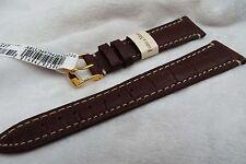 High Quality Leather Gator Grain Morellato Italy 20mm Fatto a Mano Watch Strap