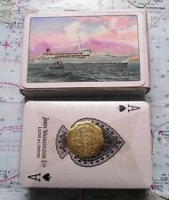Box Vintage Saville Shaw Shipping Line Playing Cards