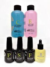 Jessica Geleration- Soak-off 6pc Prep Start Finish Oil Clarify Erase 4oz