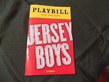Jersey Boys Broadway Playbill December 2016 - Mark Ballas