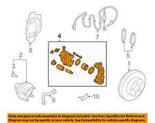 Infiniti NISSAN OEM 08-13 G37 Front Brake-Disc Caliper 41001JK00A