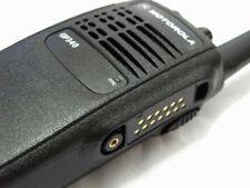 Motorola GP340 Two-Way Radio UHF 403-470 Mhz 4W 16 Channels With Accessories