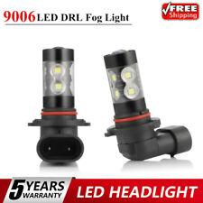 2x 9006 LED Fog Light 100W Conversion Kits Bulb Car Driving Lamp DRL 6000K BEST