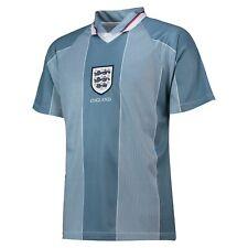 England 1996 European Championship Football Away Retro Shirt Jersey Tee Top Mens