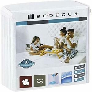 """Bedecor Mattress ProtectorSoft Cotton Terry Top CoverFit Up to 18""""for Babies ..."""