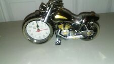 Motorcycle Alarm Clock Auto Bike Model Top Grade Gift