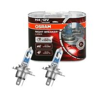 2 AMPOULE H4 12V 60/55W OSRAM NIGHT BREAKER LASER +130% +40M +20