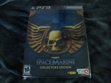 WARHAMMER 40,000 Space Marine (Collector's Edition) PS3 NEW US Version CE