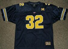 Michigan Wolverines XL Blue #32 Football Jersey