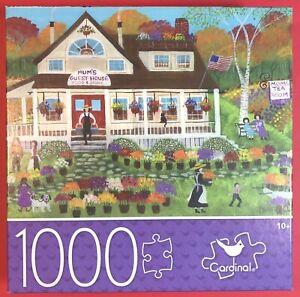 Cardinal Jigsaw Puzzle MUM'S GUEST & TEA HOUSE 1000pcs  NEW Garden People