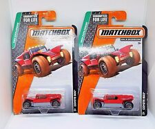 2014 Matchbox Coyote 500 - No. 61 - Red - Set of 2