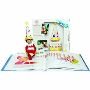 The Elf On The Shelf A Birthday Tradition - Book and Elf Suit-