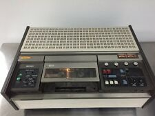 SONY U-Matic VO-2610 VCR Video Cassette Recorder *POWERS ON/NOT FULLY TESTED*