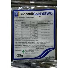 Fungicide RIDOMIL Gold MZ 68WG 25g For Vegetables Syngenta