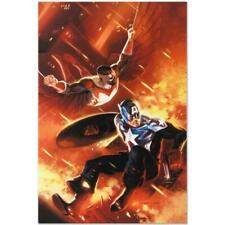 MARVEL Comics Limited Edition Captain America (6) Numbered Canvas Art