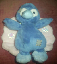 """My Blue Nose 4"""" soft toy no 87  Feathers the Peacock"""