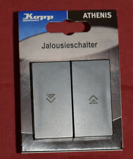 Kopp Athenis 5885.1508.2 Jalousieschalter UP 1pol. 10A 250V (B1)