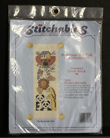 DIMENSIONS Stitchables Noah's Animals Counted Cross Stitch Kit 72020 1990