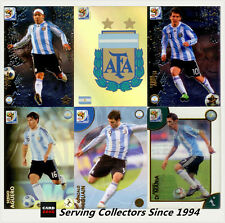 *2010 Panini South Africa World Cup Soccer Cards Team Set Argentina (10)