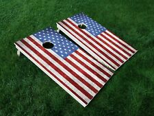 Vinyl Wraps Cornhole Board Decals America 11 Usa Flag American Bag Game Stickers