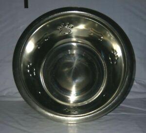 Nice 3 CUP Stainless Steel Metal Dog / Pet Food, Water Dish Bowl, PAW & BONE