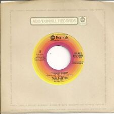CARL CARLTON 45  Smokin' Room / Signed, Sealed, Delivered I'm Yours - NM