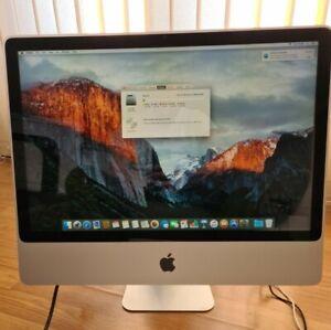 Apple IMac A1274 24'' 2009 Intel Core 2 Duo 2.66GHz  4 GB DDR 500 GB HDD