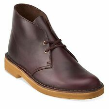 Clarks Original Mens ** X Desert Boots ** Horween Wine Lea , Limited ** Uk 12 G