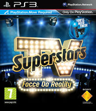 TV Superstars Facce Da Reality PS3 Playstation 3 IT IMPORT