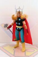 Vintage 1975 Mego Thor WGSH Original Action Figure Rare VINYL Cape Variant MINTY