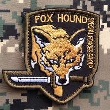 Fox Hound Hook Patch Metal Gear Solid Cosplay Solid Snake Big Boss Embroidered