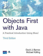 Good, Objects First with Java: A Practical Introduction Using BlueJ, Kolling, Mi