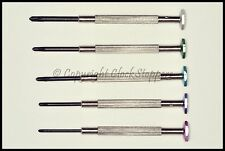 Set of 5 Philips Star Screwdrivers for Watchmakers Jewellers Camera Mobile Phone