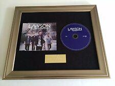 PERSONALLY SIGNED/AUTOGRAPHED LAWSON - JULIET  FRAMED CD PRESENTATION.