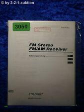 Sony Bedienungsanleitung STR DE697 FM/AM Receiver (#3050)