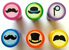 24 Mustache Stampers Teacher Supply Party Favors Baby Shower Birthday